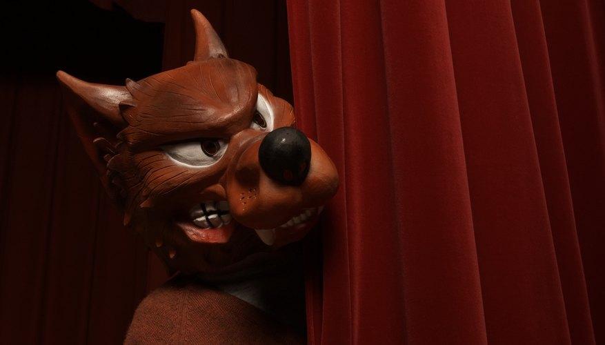 Toma una idea para crear tus propias orejas de lobo.
