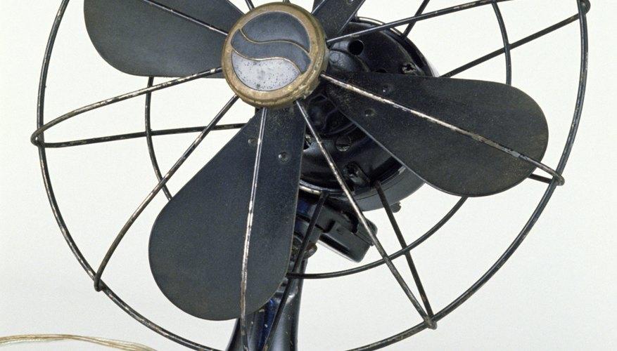 El ventilador y la rueda del hámster.