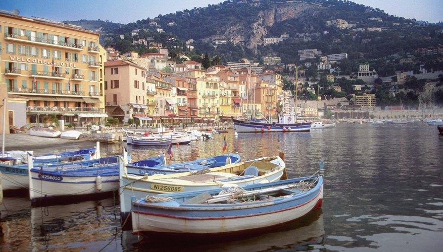 Vista de la Riviera francesa.