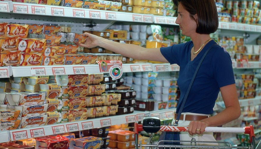 Supermarkets operate on extremely low profit margins, making margin and sales mixes vital.