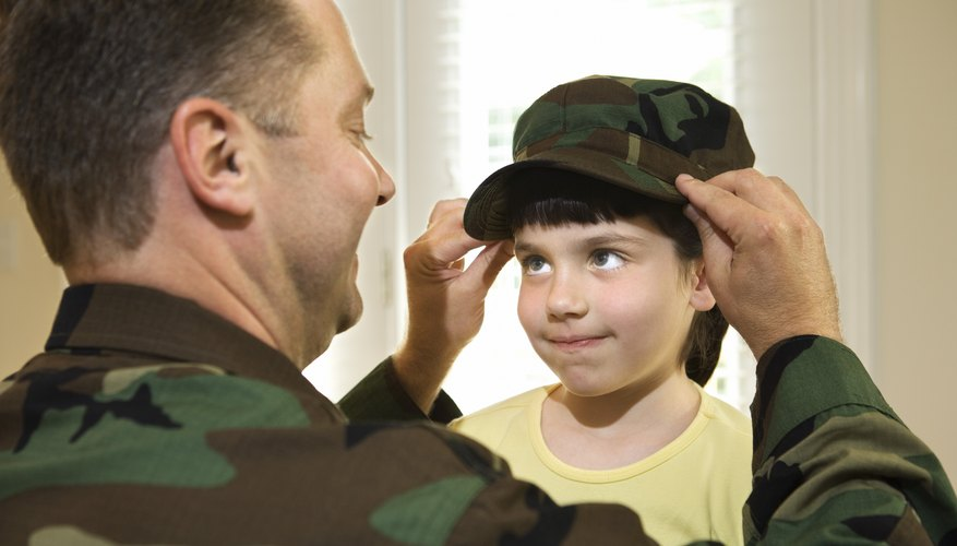 Parents in the military may expect their children to live up to the same ideals they do.