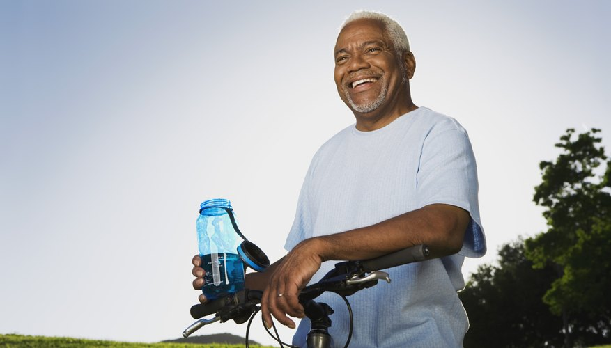 Drink plenty of water while exercising.