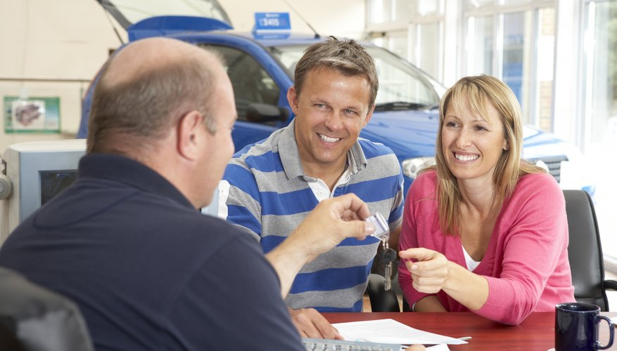 Couples often purchase vehicles together.