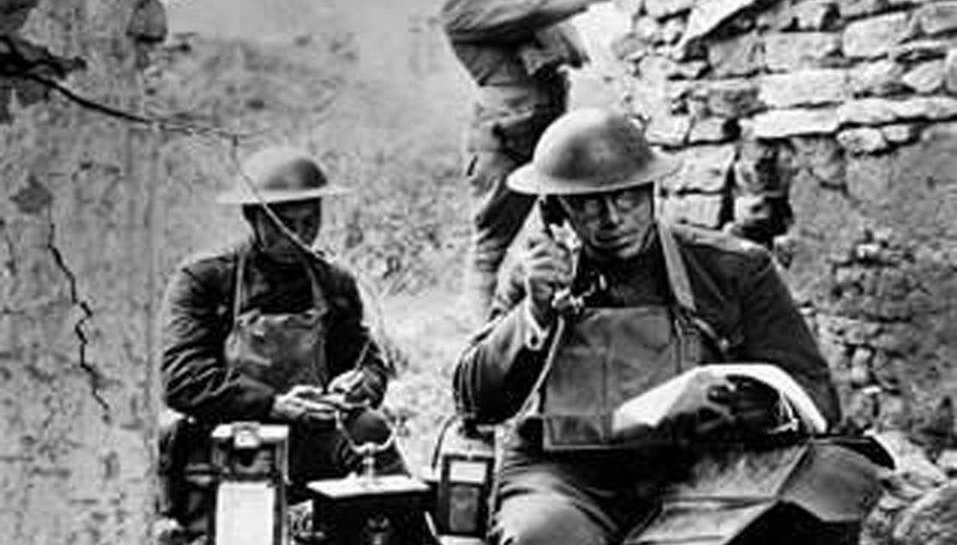La Primera Guerra Mundial duró más tiempo del estimado.