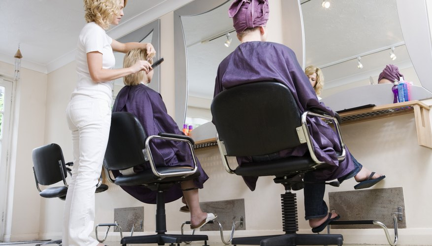 Women in salon
