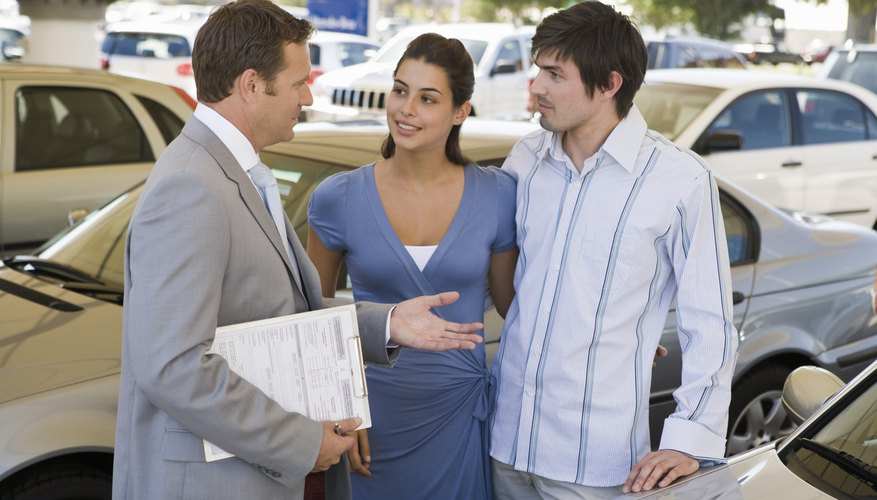 Dealers often don't run your credit until you make a vehicle offer.