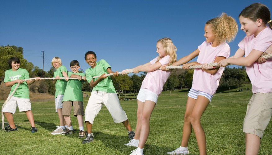 Outside play can encourage your child's creativity and enhance his physical strength.
