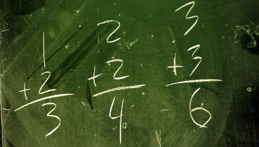 En matemáticas, una fracción, es la expresión de una cantidad dividida entre otra