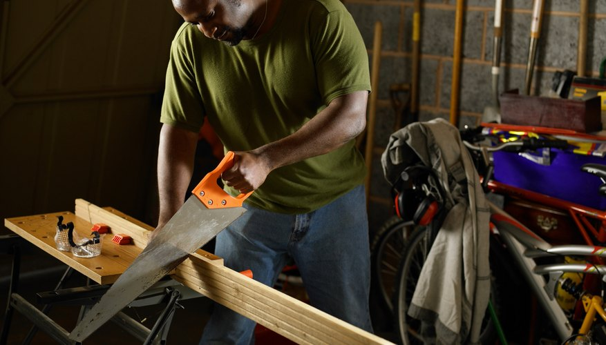 Black and Decker Workmates are sturdy and durable and can be used for many projects.
