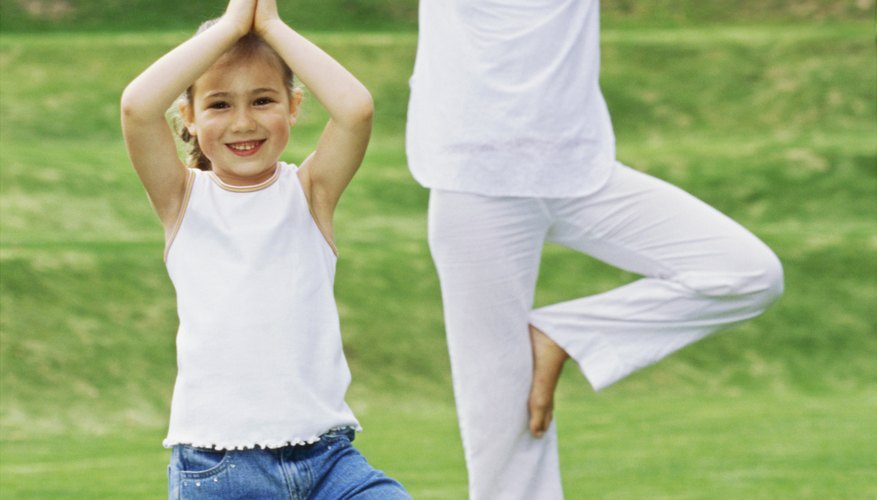 Children can gain many benefits from yoga.