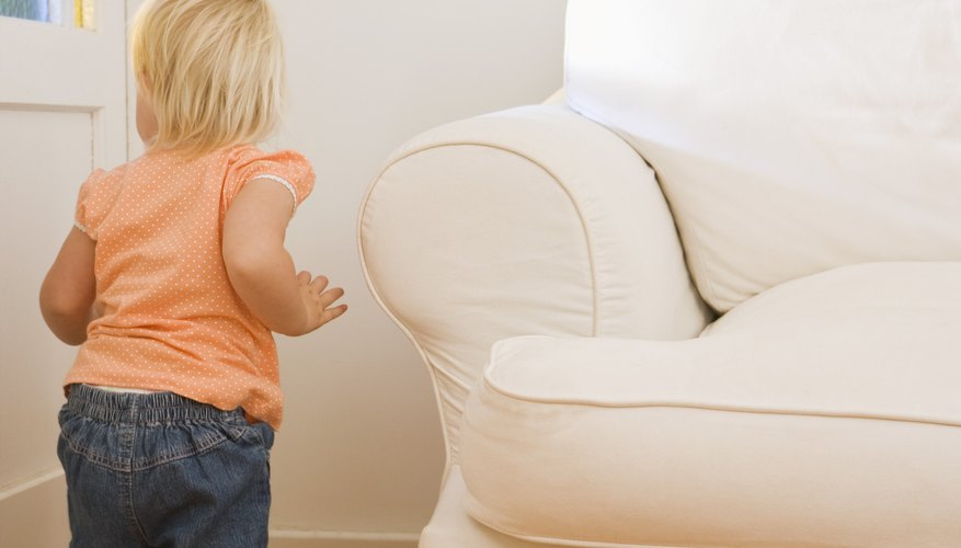 Stage an in-home scavenger hunt for your child.