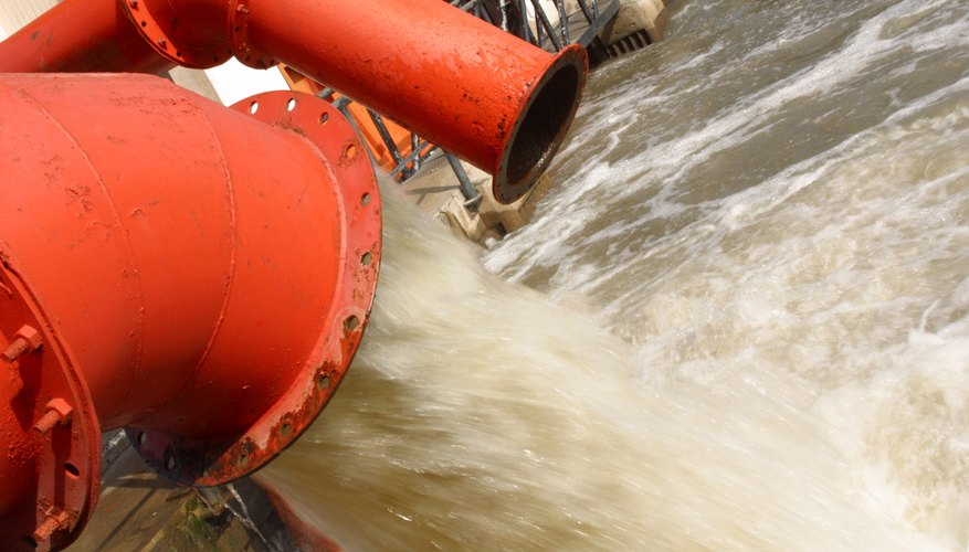 For treatment of industrial wastewater, incorporate both chemical and biological water treatment.