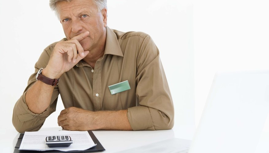 Accountants prepare balance sheets at the end of each accounting period.