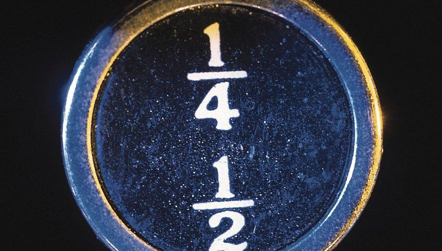 Un decimal exacto no se repite, como ,25 o 1/4, contrario al decimal repetitivo, como 0,333 o 1/3.