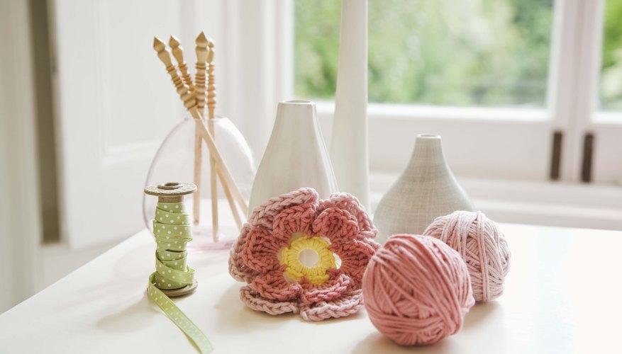 → Cómo tejer al croché con hilo de cinta y de encaje | Geniolandia
