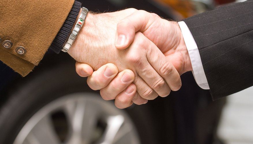Transactions between siblings are often based on oral agreements or handshakes.