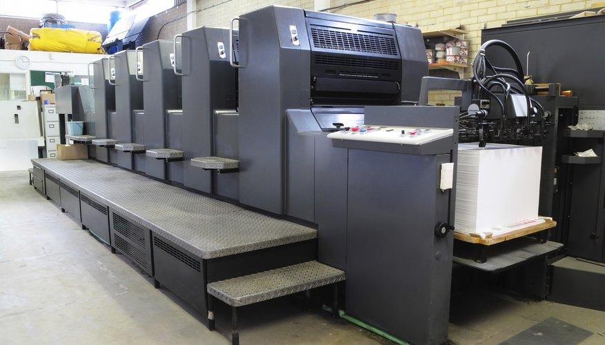 Lithograph Printing Machine
