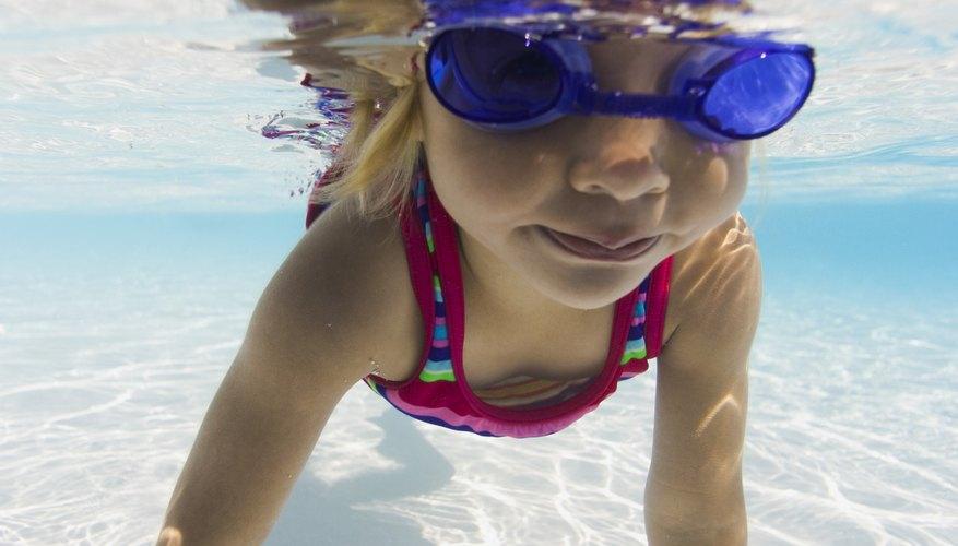 Older toddlers can take swimming classes in Brighton.