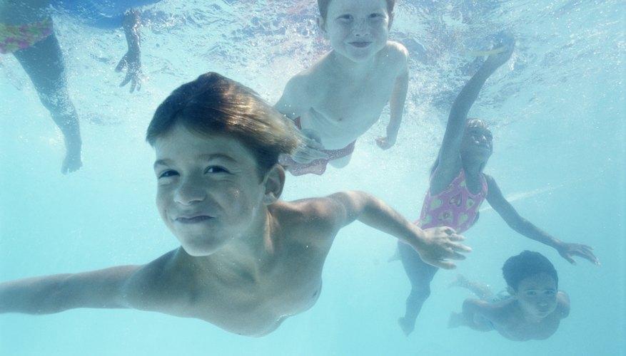Puedes optar por los juegos acuáticos.