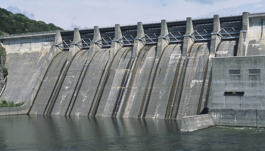 Center Hill Hydroelectric Dam, TN, USA