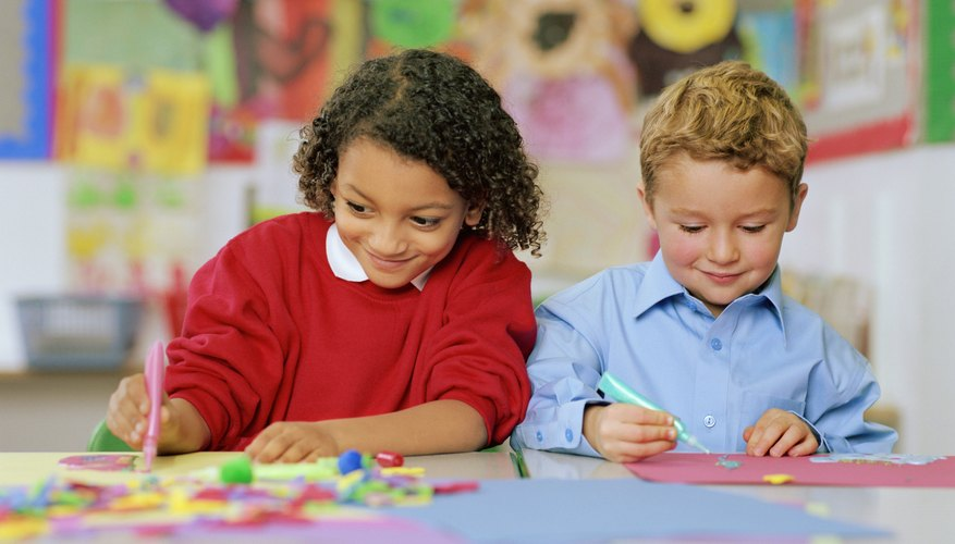 Encourage your child's creativity with art and craft projects.