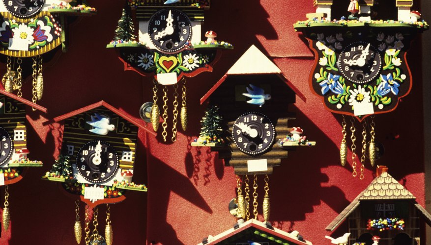 Enjoy crafting whimsical cuckoo clock crafts with your child.