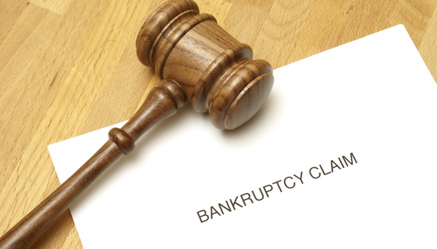 Bankruptcy claim underneath judicial hammer