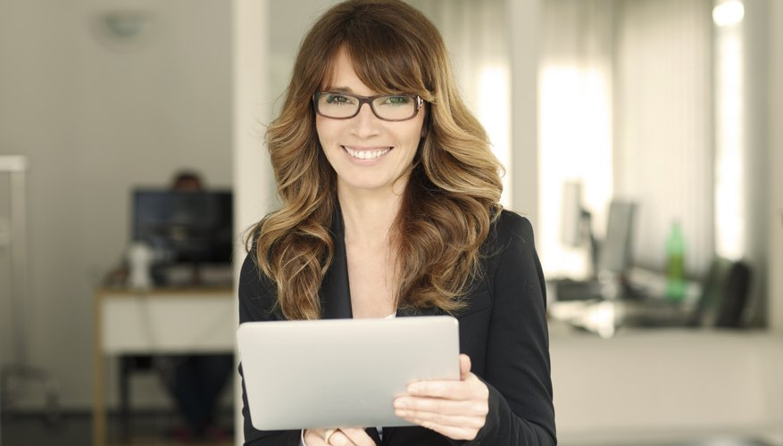 Smiling confident lawyer businesswoman