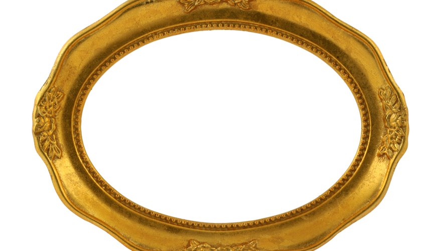 Mirrors are often made in the shape of an ellipse.