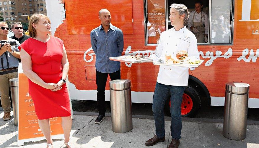 Luvo Food Truck Kick Off With Derek Jeter