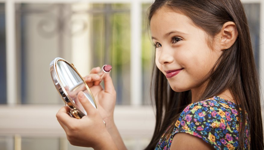 Interest girls in science with fun science activities with makeup products