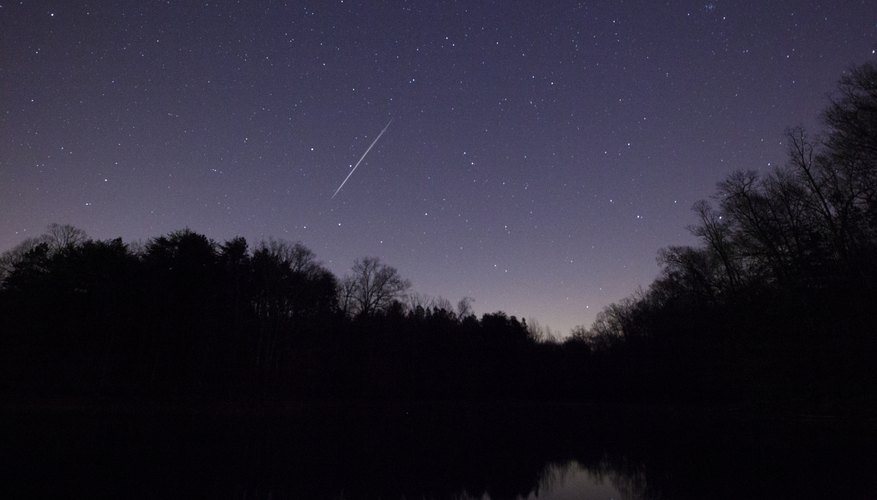 There are many myths about shooting stars.