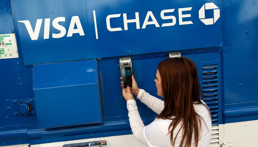Visa partners with banks like Chase to offer credit cards.