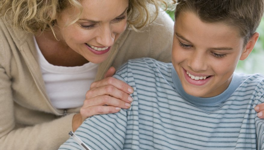 If you encourage your children, they will feel like cooperating with you.