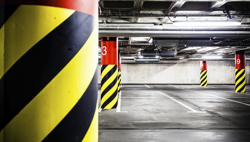 Rent space in a garage for your fleet.