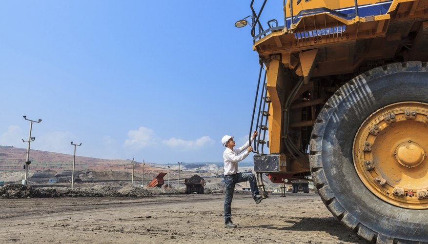 Mining operations often contaminate the soil with heavy metals and acids.