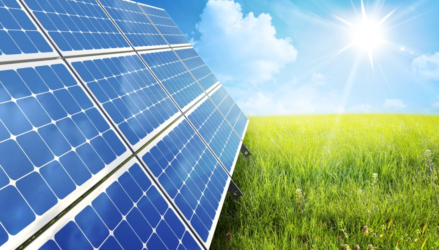Solar energy offers a green alternative to fossil fuels.