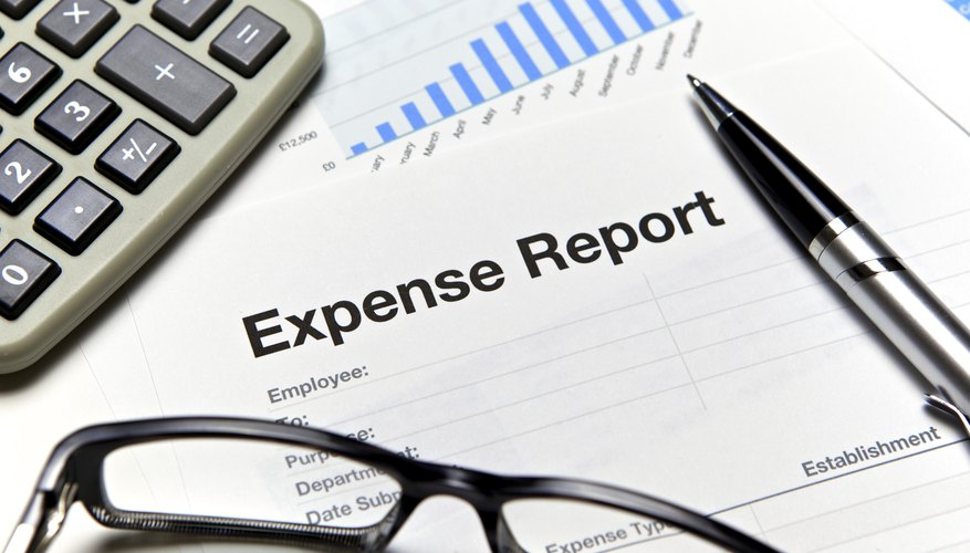 How To Write An Expense Report  Bizfluent