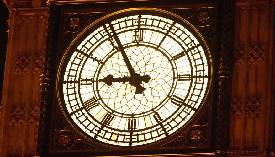 Los primeros relojes mecánicos datan del siglo 13.