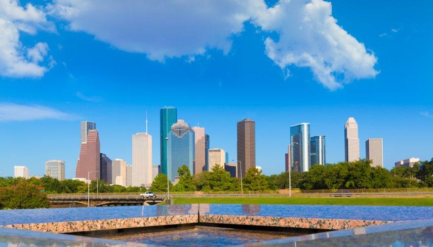 Lakes & Rivers in Houston, Texas
