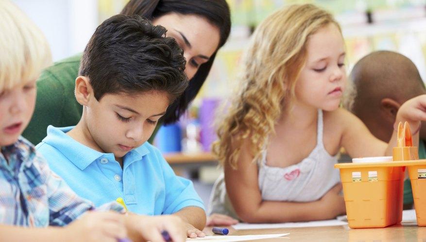 Preschool teachers need to encourage creativity.