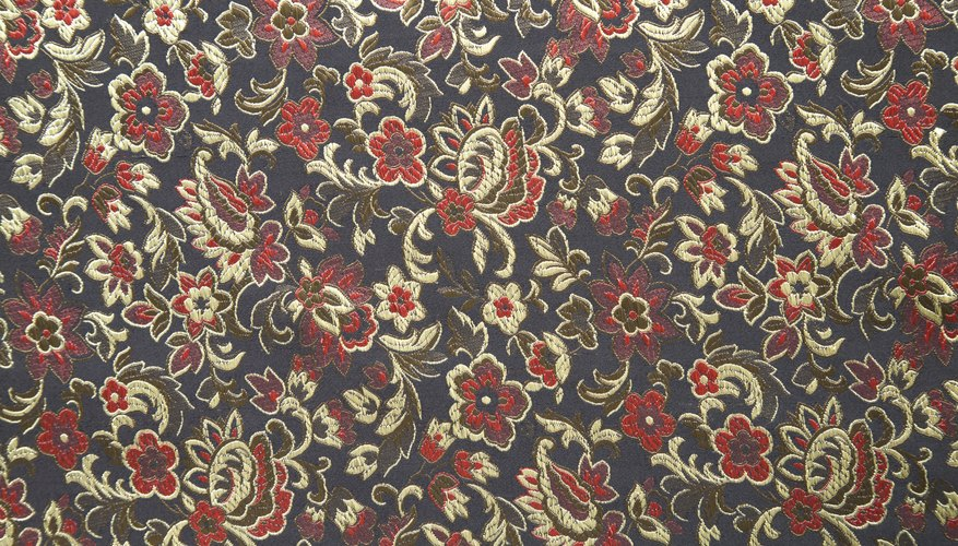 Often challis is printed with a floral pattern.
