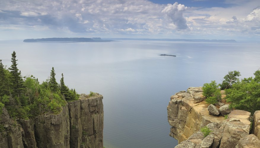 Lake Superior, shaped by glacial forces, holds 10 percent of the world's fresh surface water.