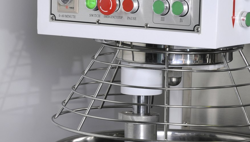 Mixer in restaurant kitchen