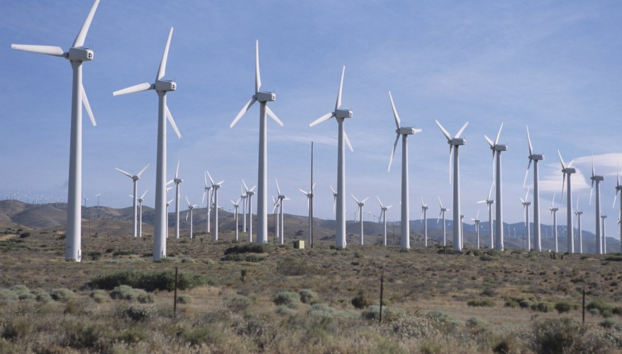 Large deserts in the southwestern United States are perfect for solar energy plants and coastal winds make ideal conditions for the installation of wind farms near the continental shelf.