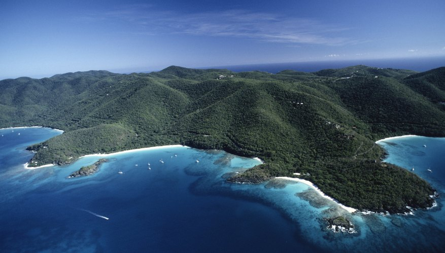 Trunk Bay in the St. Johns, US Virgin Island.