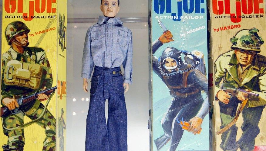 Vintage GI Joe dolls