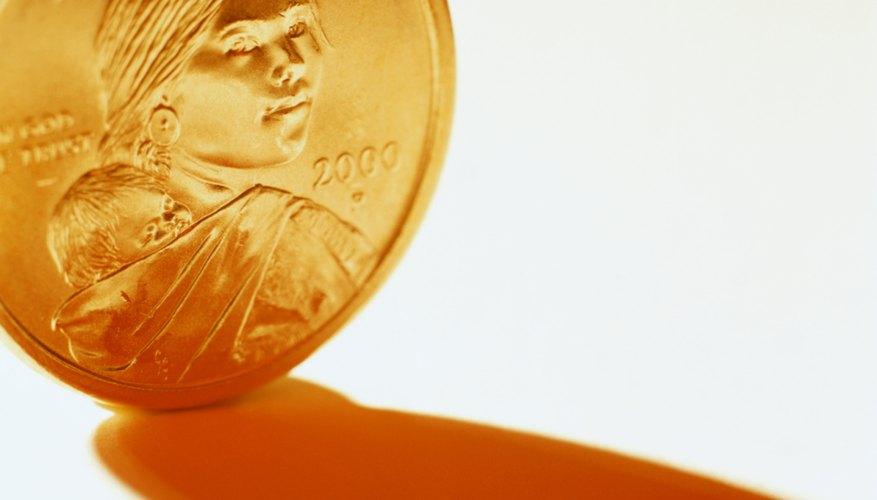 Las monedas de Sacagawea acuñadas desde 2009 conmemoran eventos de los nativos americanos en el reverso.