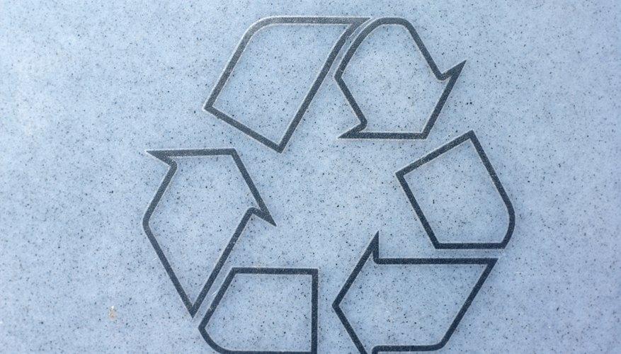 Información sobre las plantas de reciclaje.