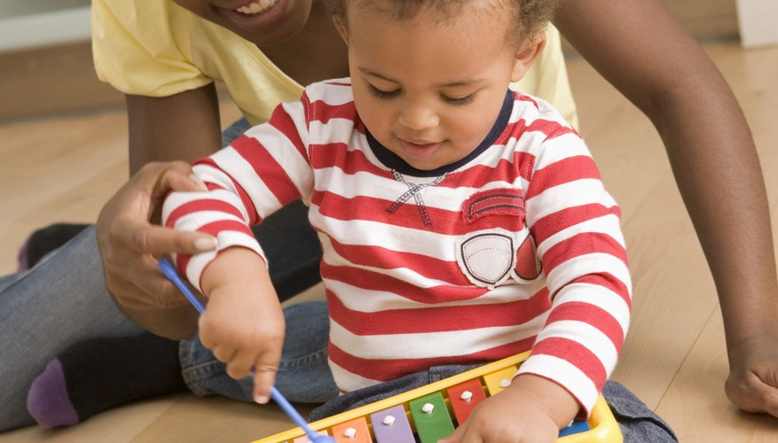 Early exposure to music and instruments builds new pathways in an infant's brain.